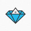 diamond-properties-logo-template