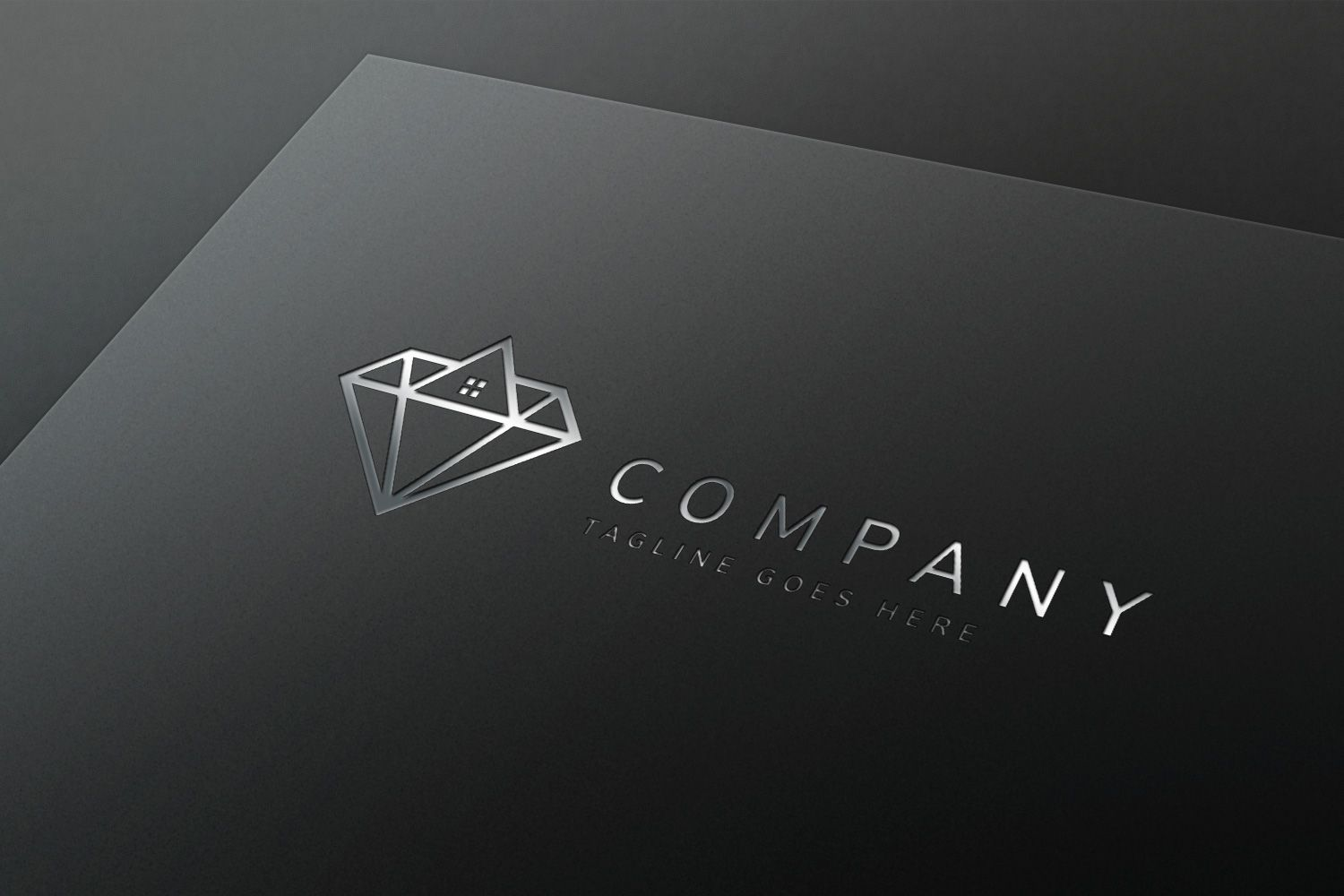 Diamond Properties - Logo Template Screenshot 1