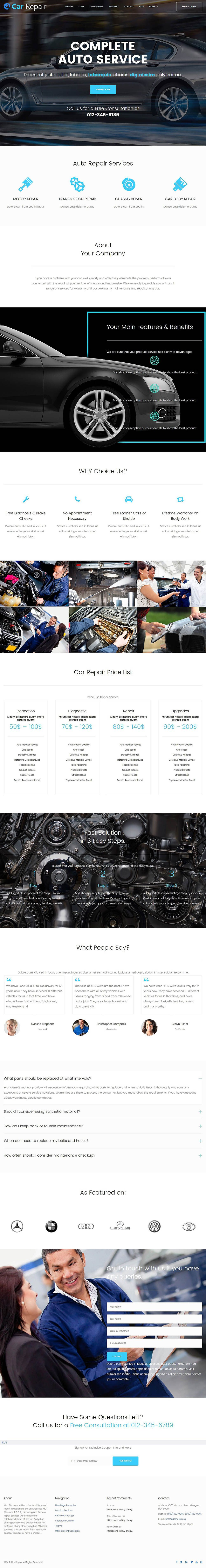 Cherry - Multi Purpose WordPress Theme Screenshot 6