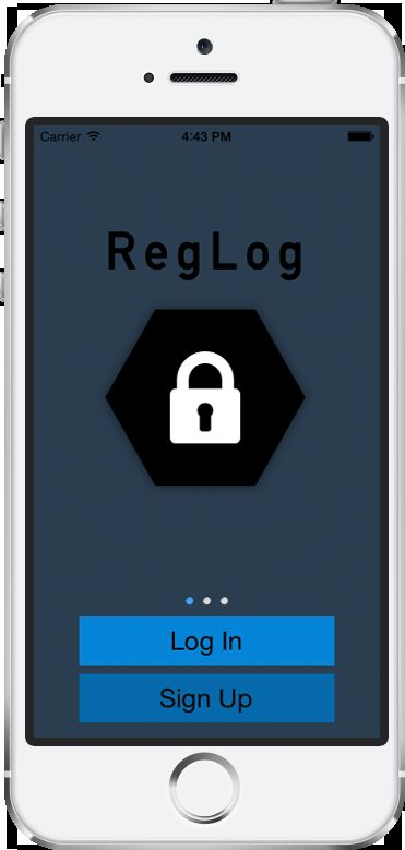 Reglog ios app template with php backend miscellaneous for Titanium app templates