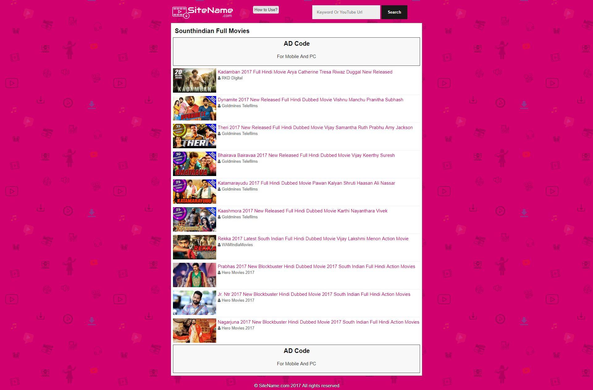 Tubedl - Youtube Downloader PHP Screenshot 2