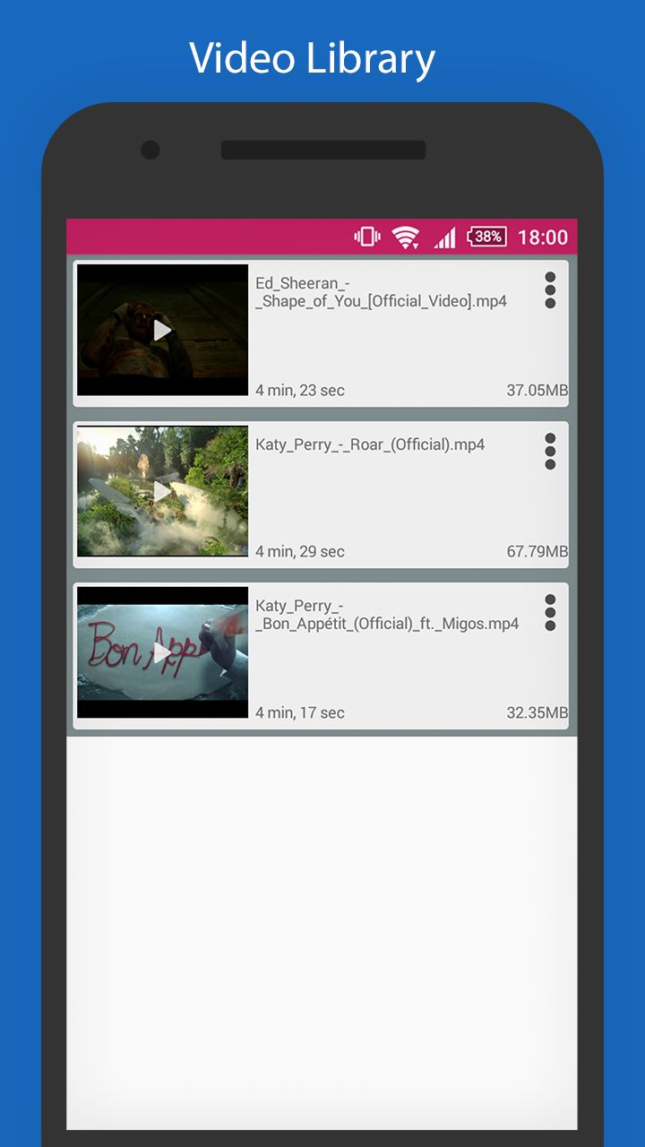 YoutubeSaver - HD Video downloader For Android Screenshot 2