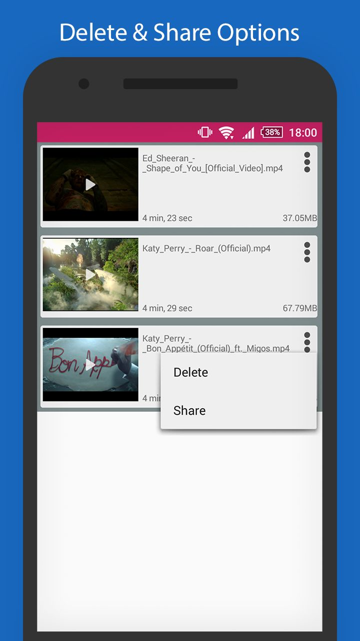 YoutubeSaver - HD Video downloader For Android Screenshot 3