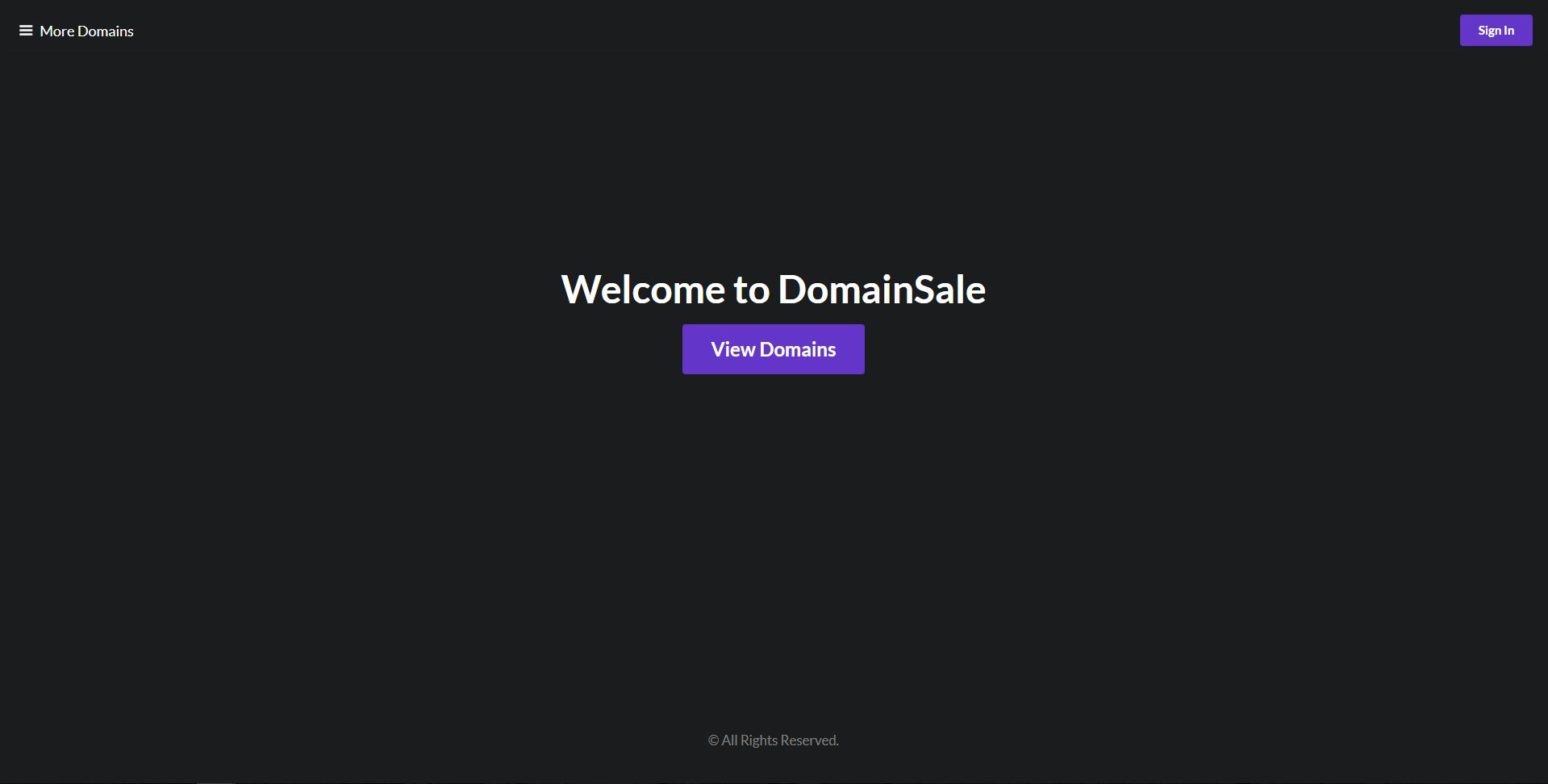 DomainSale PHP Script Screenshot 2