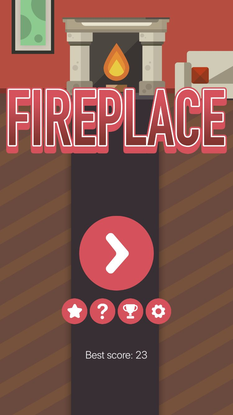 Fireplace - iOS Xcode Project Screenshot 1