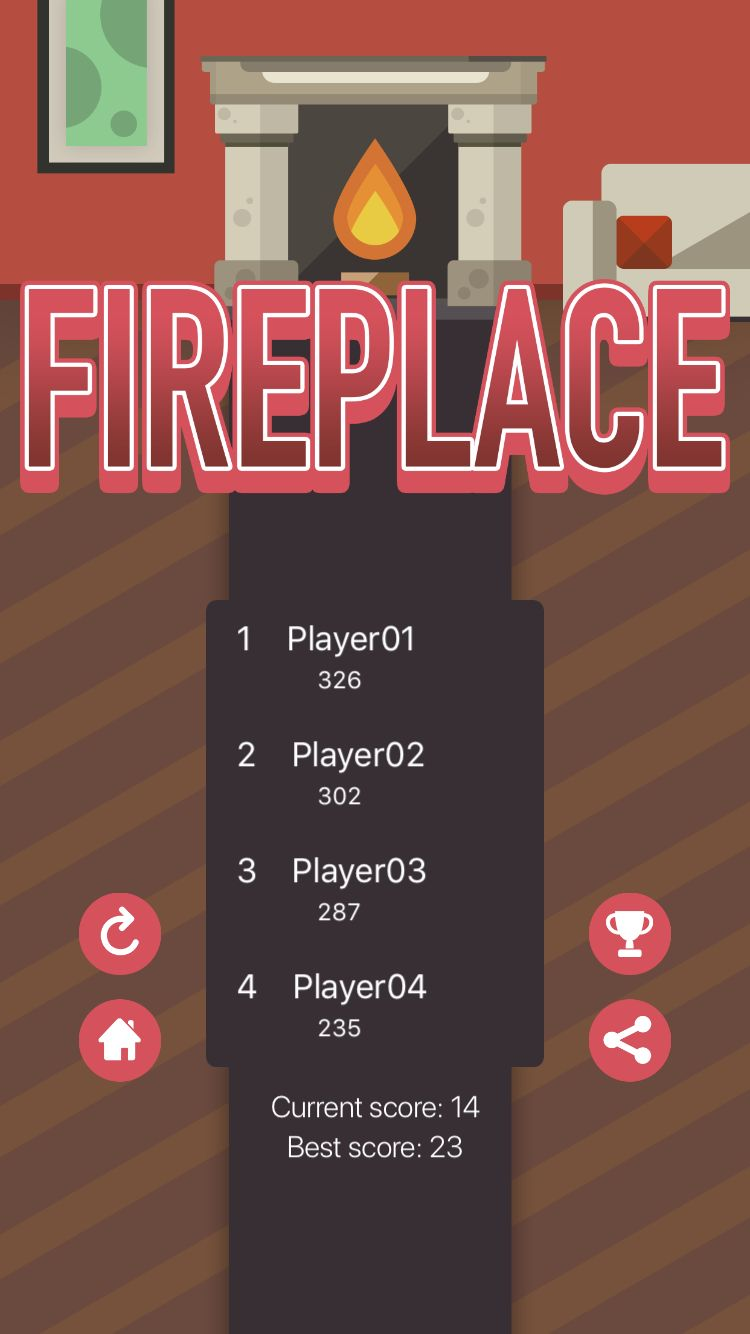 Fireplace - iOS Xcode Project Screenshot 4