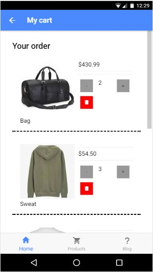 Clothy Ionic 3 Ecommerce App With PHP backend Screenshot 6