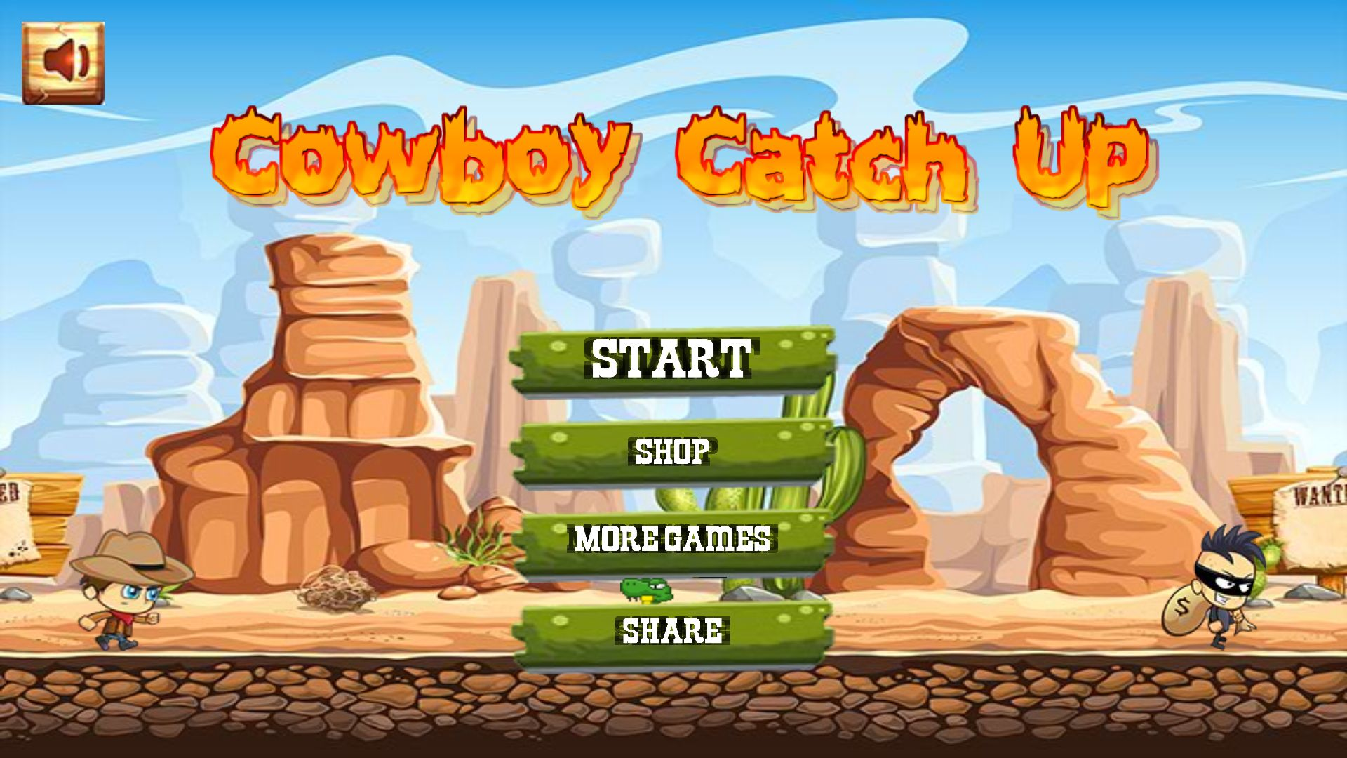 Cowboy Catch Up - Unity Full Source Code Screenshot 1