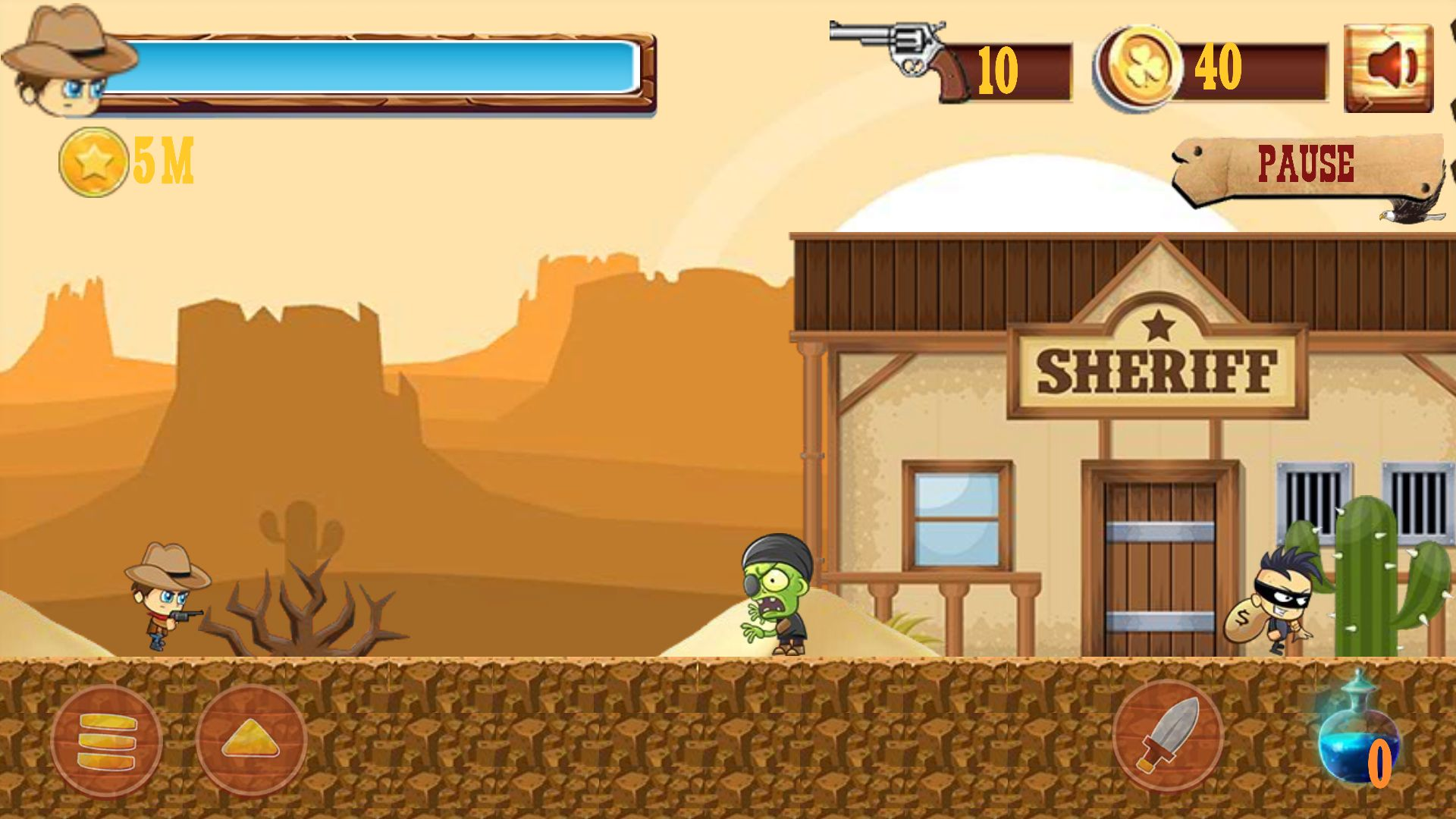 Cowboy Catch Up - Unity Full Source Code Screenshot 3