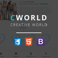 CWorld - Multi Purpose HTML Bootstrap Template