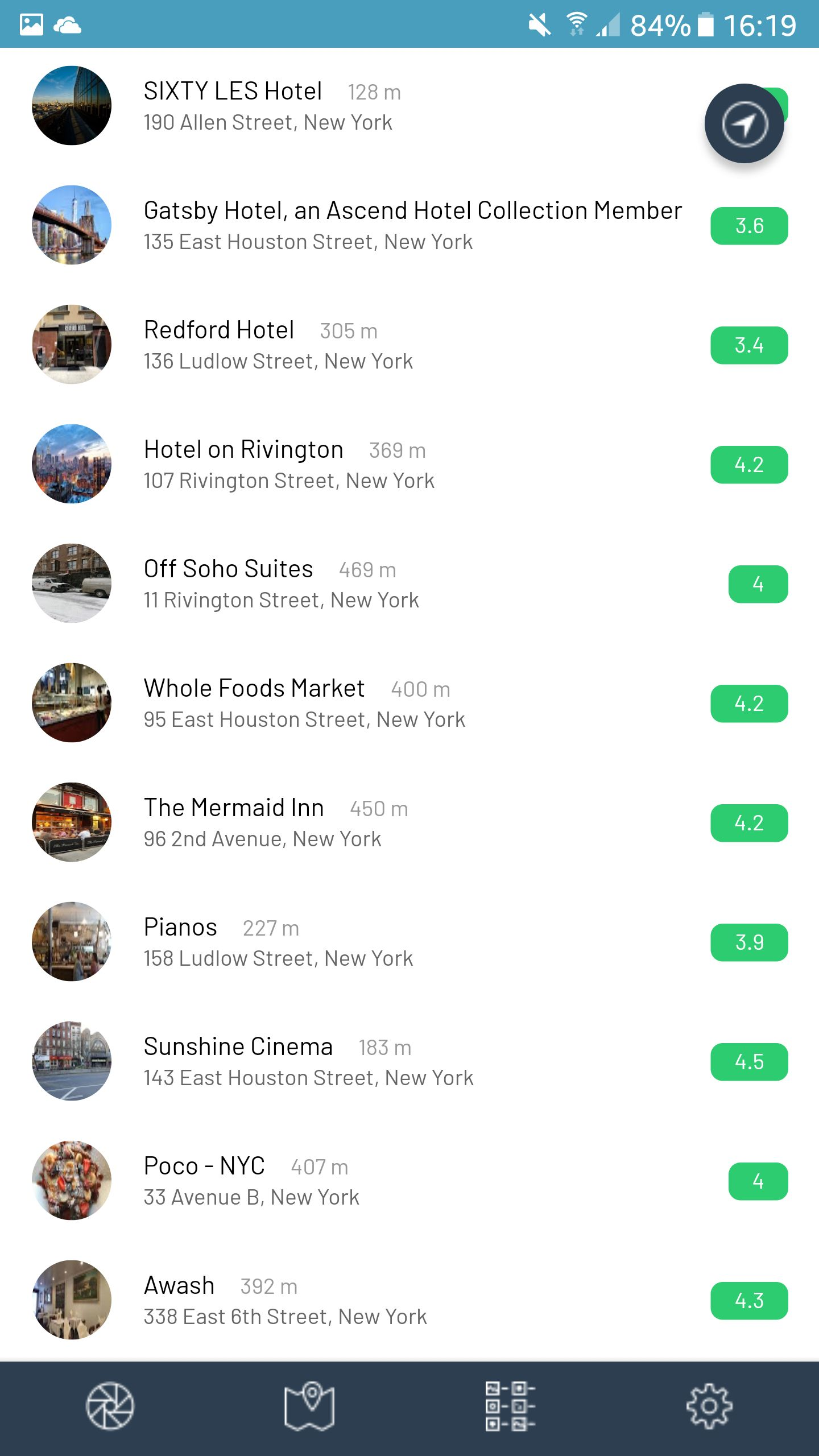 Near - Augmented Reality Locations Ionic App Screenshot 2