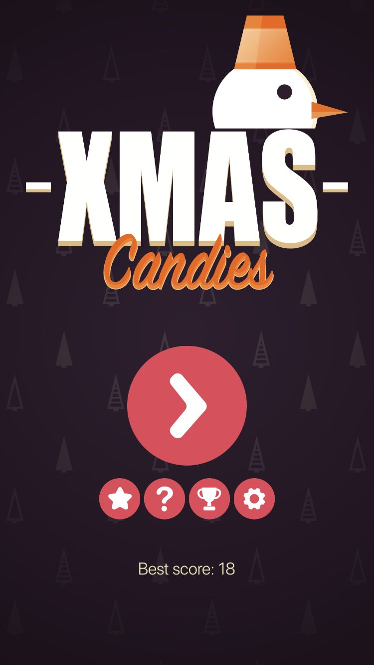 Xmas Candies - iOS Source Code Screenshot 1