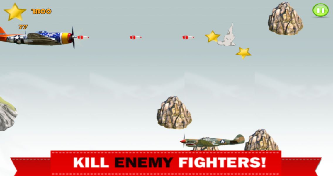 Air Fighters - iOS Game Source Code Screenshot 3