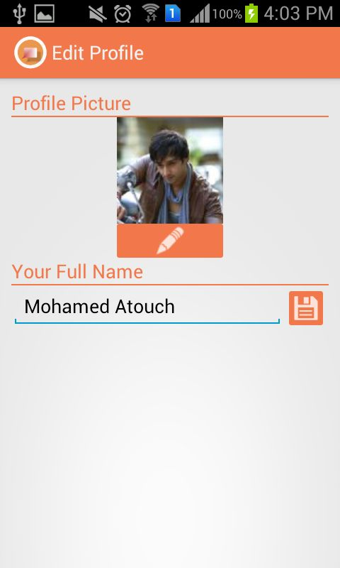 JustChat - Android Messenger App Template Screenshot 2
