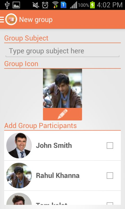 JustChat - Android Messenger App Template Screenshot 11