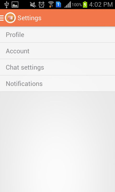 JustChat - Android Messenger App Template Screenshot 13