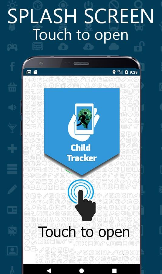 Child Location GPS Tracker - Android Template Screenshot 2
