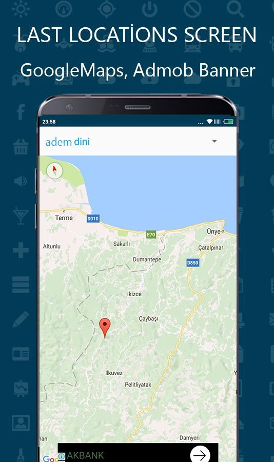 Child Location GPS Tracker - Android Template Screenshot 3