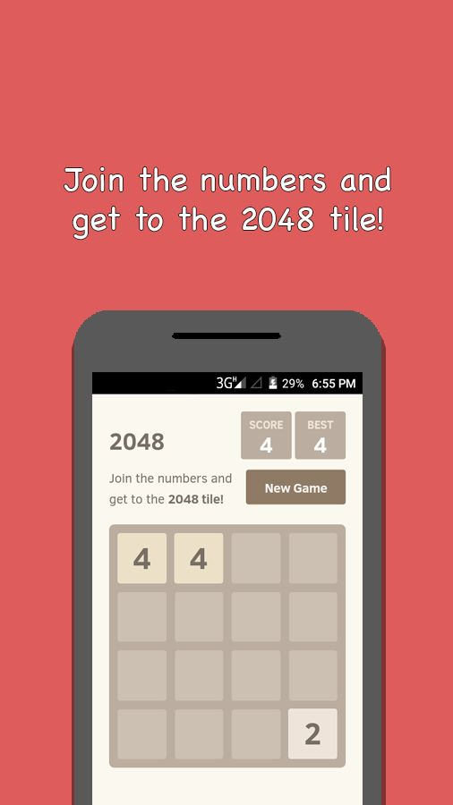 2048 And 4 Games - Android Source Code Screenshot 1