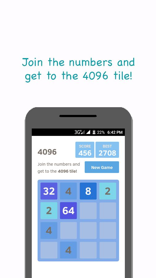 2048 And 4 Games - Android Source Code Screenshot 2