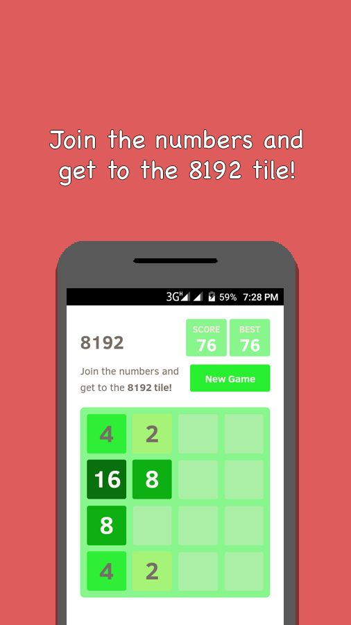 2048 And 4 Games - Android Source Code Screenshot 4