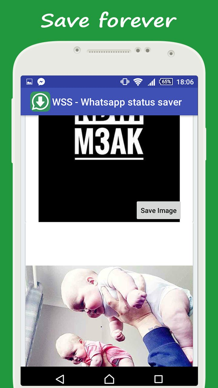 Whatsapp Status Saver - Android App Source Code Screenshot 2
