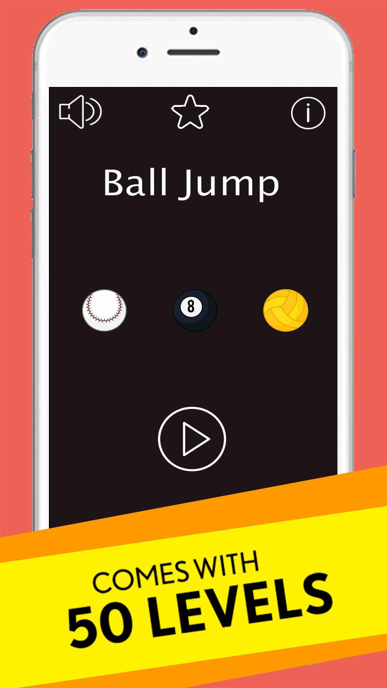Ball Jump - Buildbox Game Template Screenshot 1