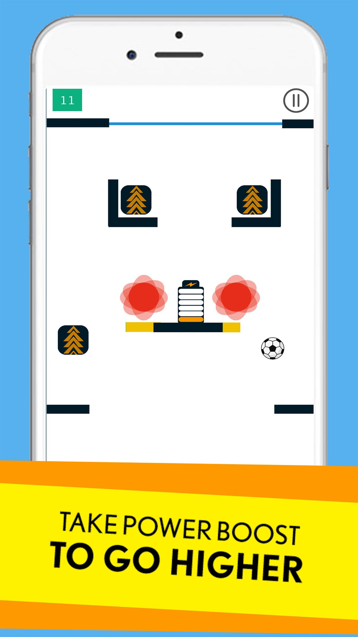 Ball Jump - Buildbox Game Template Screenshot 4