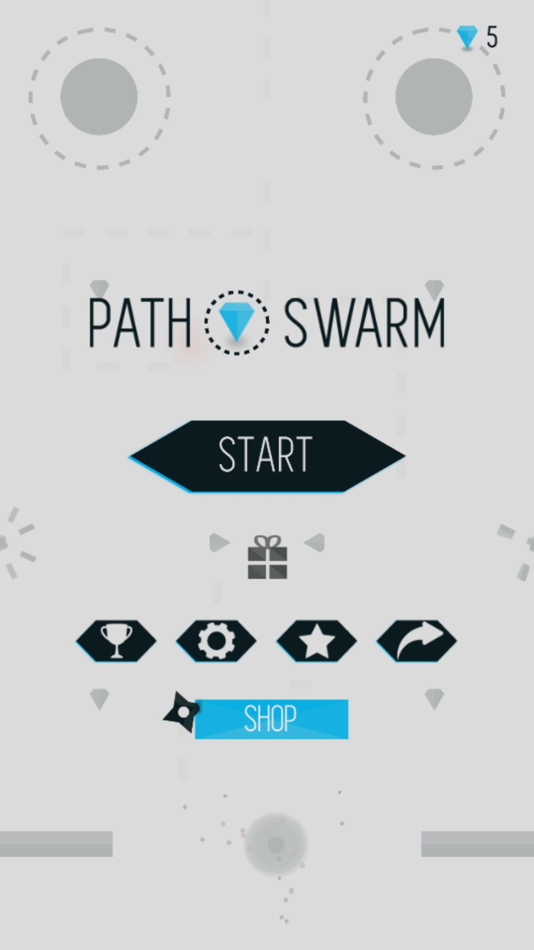 Path Swarm - Buildbox Game Project Screenshot 1