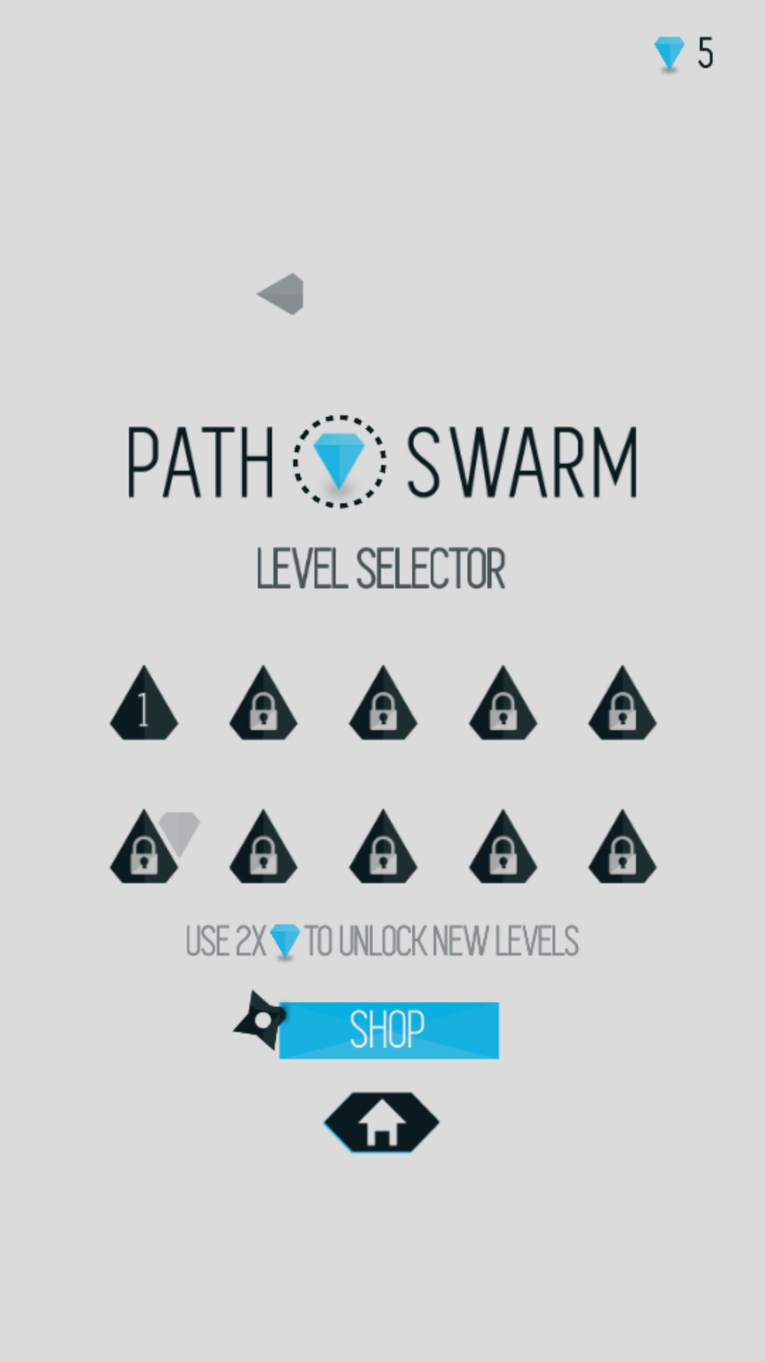 Path Swarm - Buildbox Game Project Screenshot 3