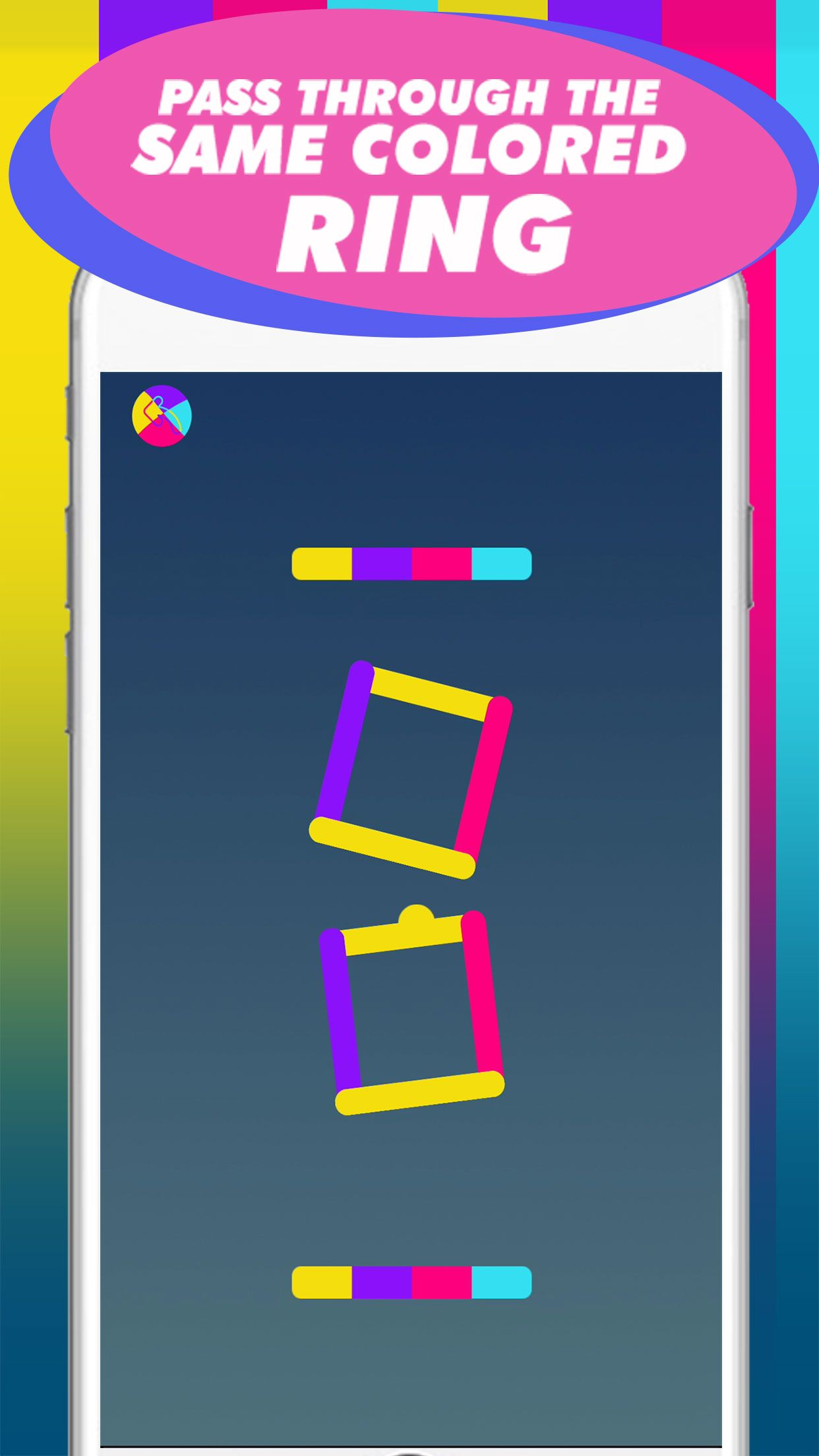 Color Gravity - Buildbox Game Template Screenshot 3
