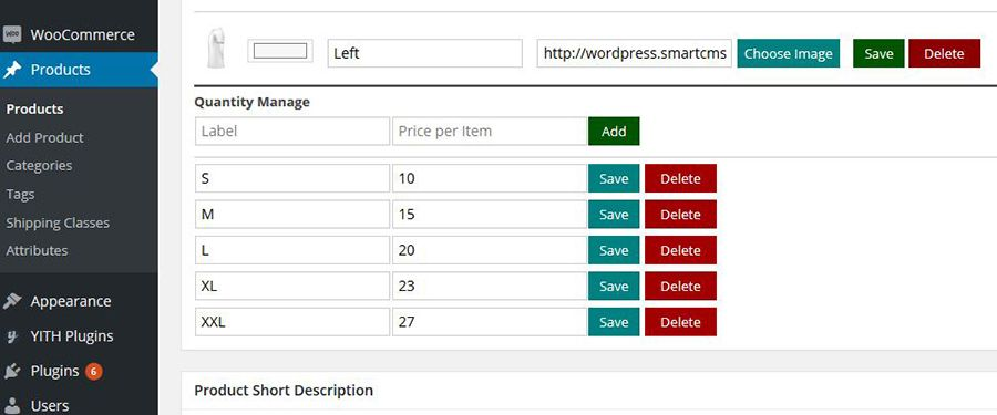 WooCommerce Product Designer Plugin Screenshot 3