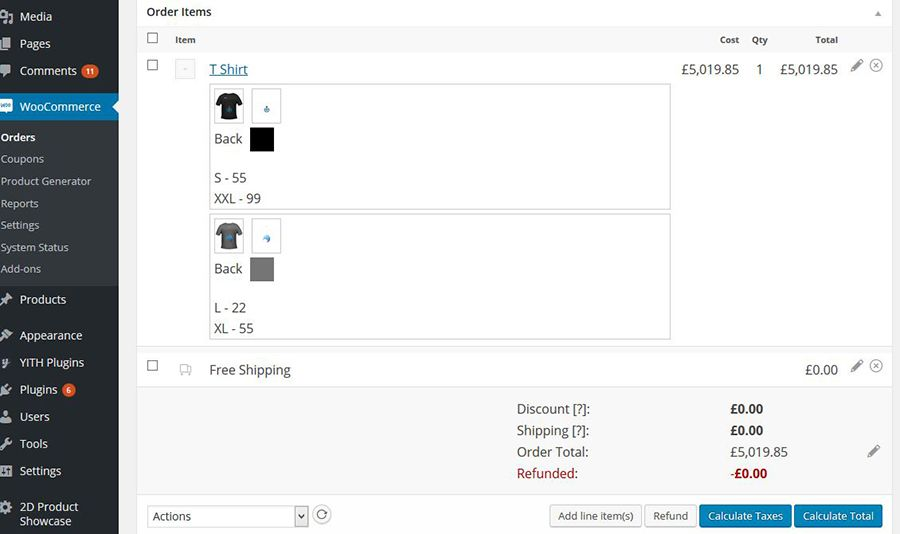 WooCommerce Product Designer Plugin Screenshot 8