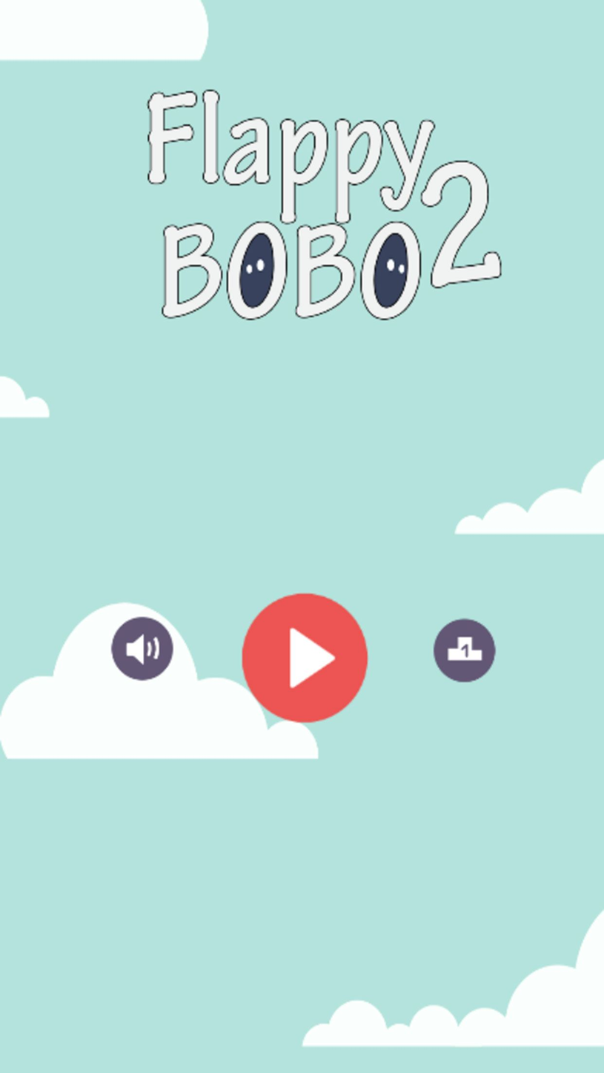 Flappy Bobo 2 - Buildbox Game Template Screenshot 1