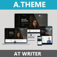 AT Writer – Responsive Writer Joomla Template
