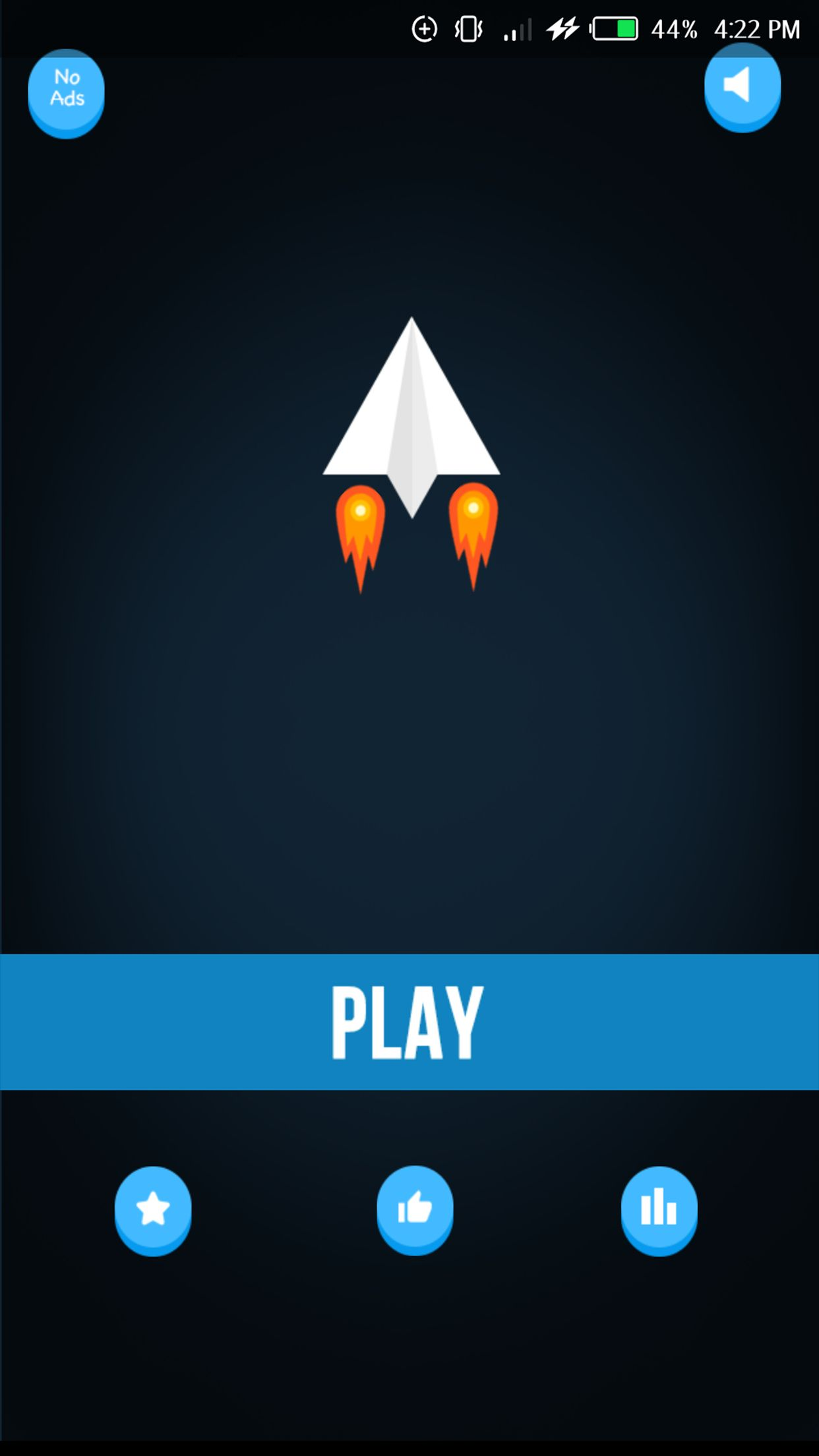 Paper Plane - Buildbox Game Screenshot 1