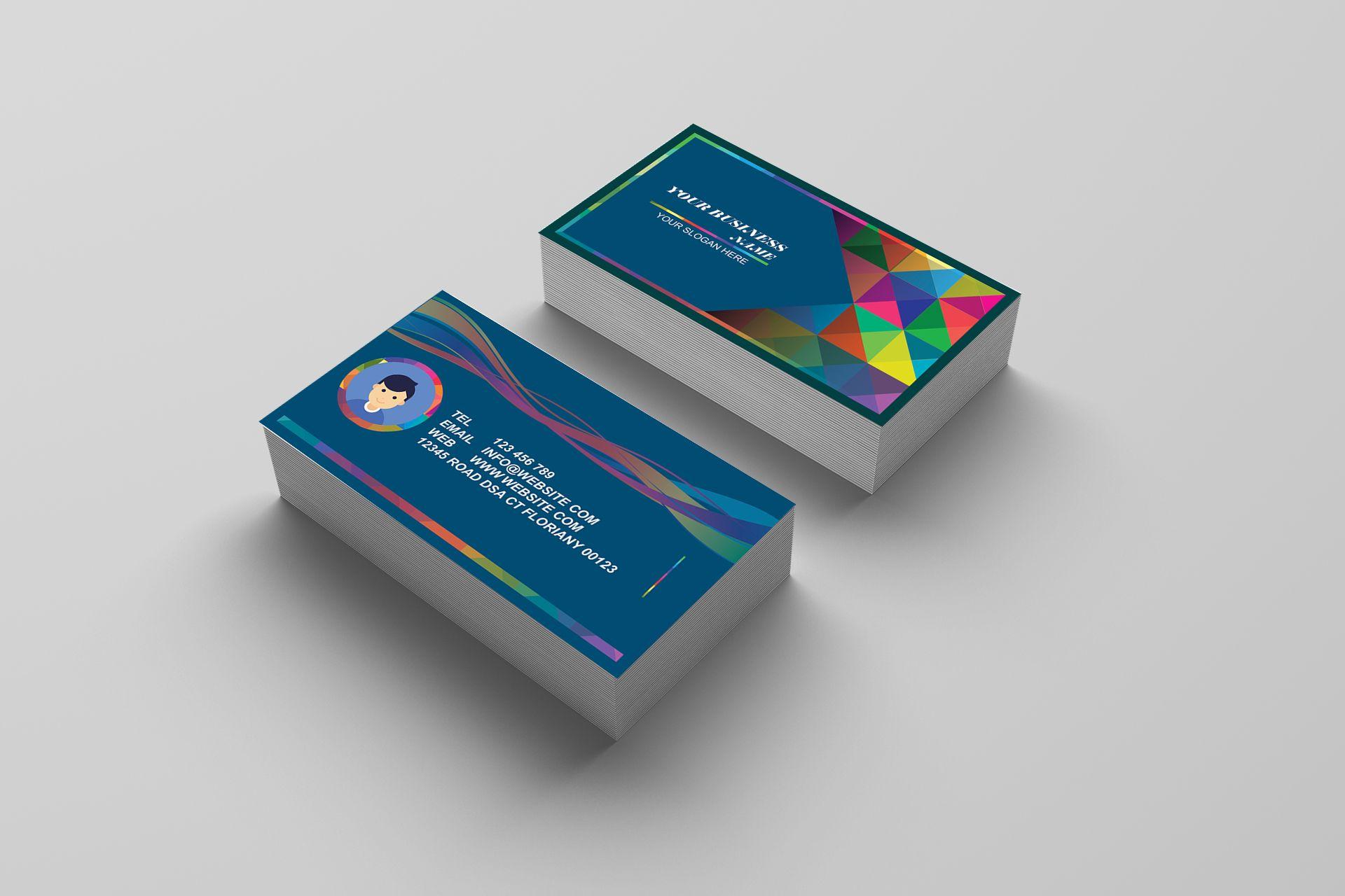 Colorful business card template business card templates codester colorful business card template screenshot 2 colourmoves