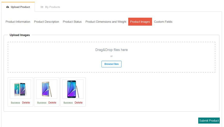 Virtuemart Add Product From FrontEnd Screenshot 7