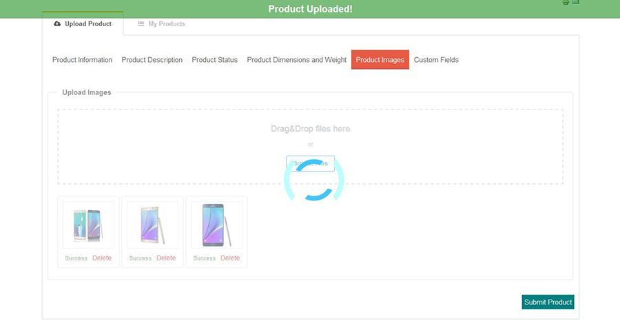 Virtuemart Add Product From FrontEnd Screenshot 9