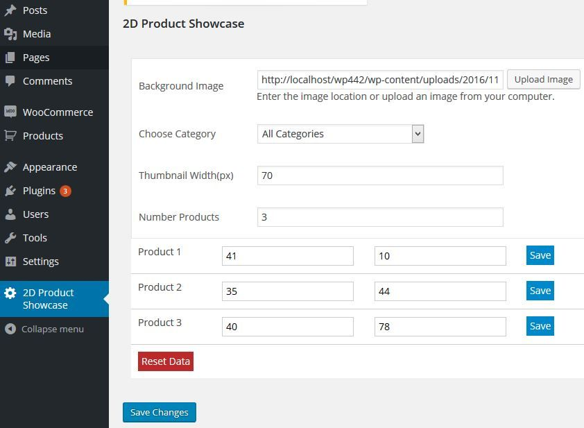 WooCommerce 2D Product Showcase And Quick View Screenshot 4