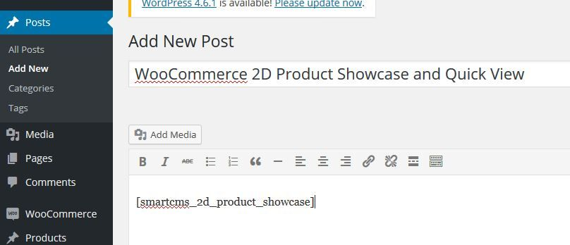 WooCommerce 2D Product Showcase And Quick View Screenshot 5