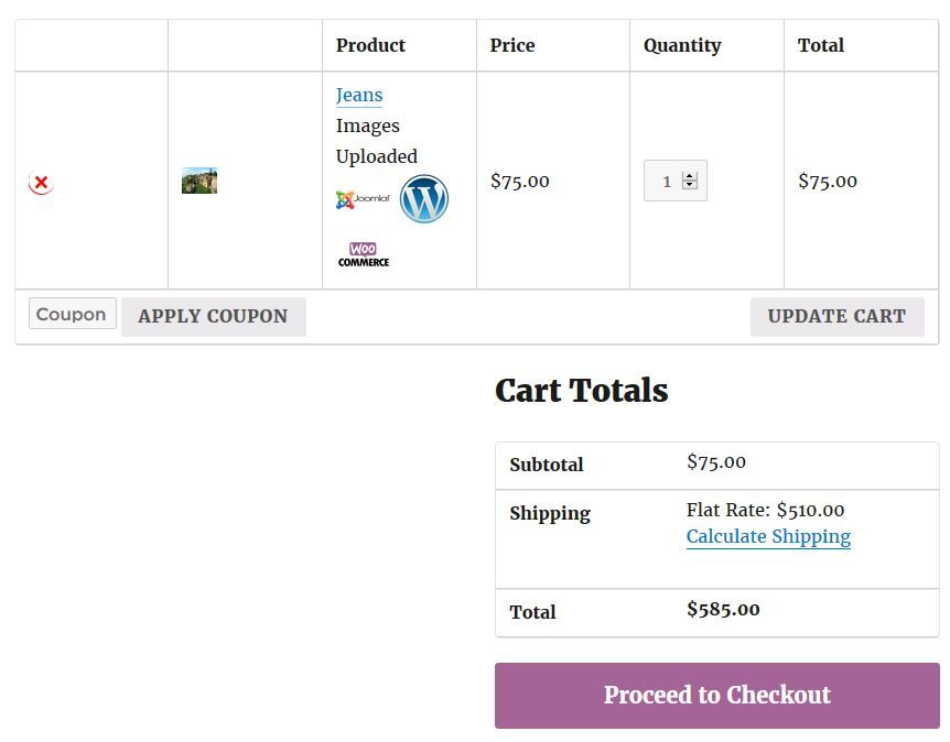 WoCommerce Order Upload Plugin Screenshot 3