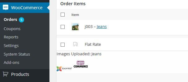 WoCommerce Order Upload Plugin Screenshot 4