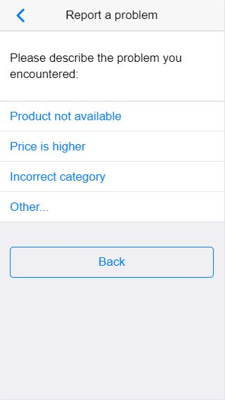 Product Catalog And Backend - Cordova App Template Screenshot 6