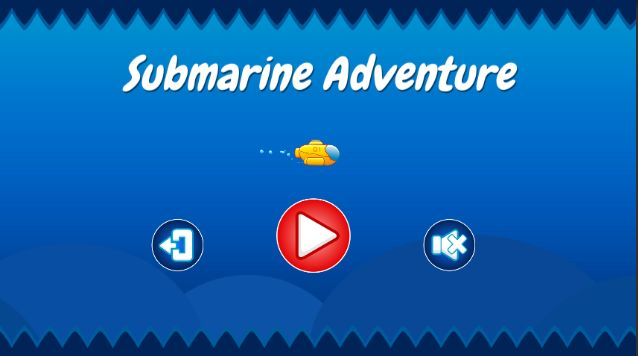Submarine Adventure - Unity Game Source Code Screenshot 1