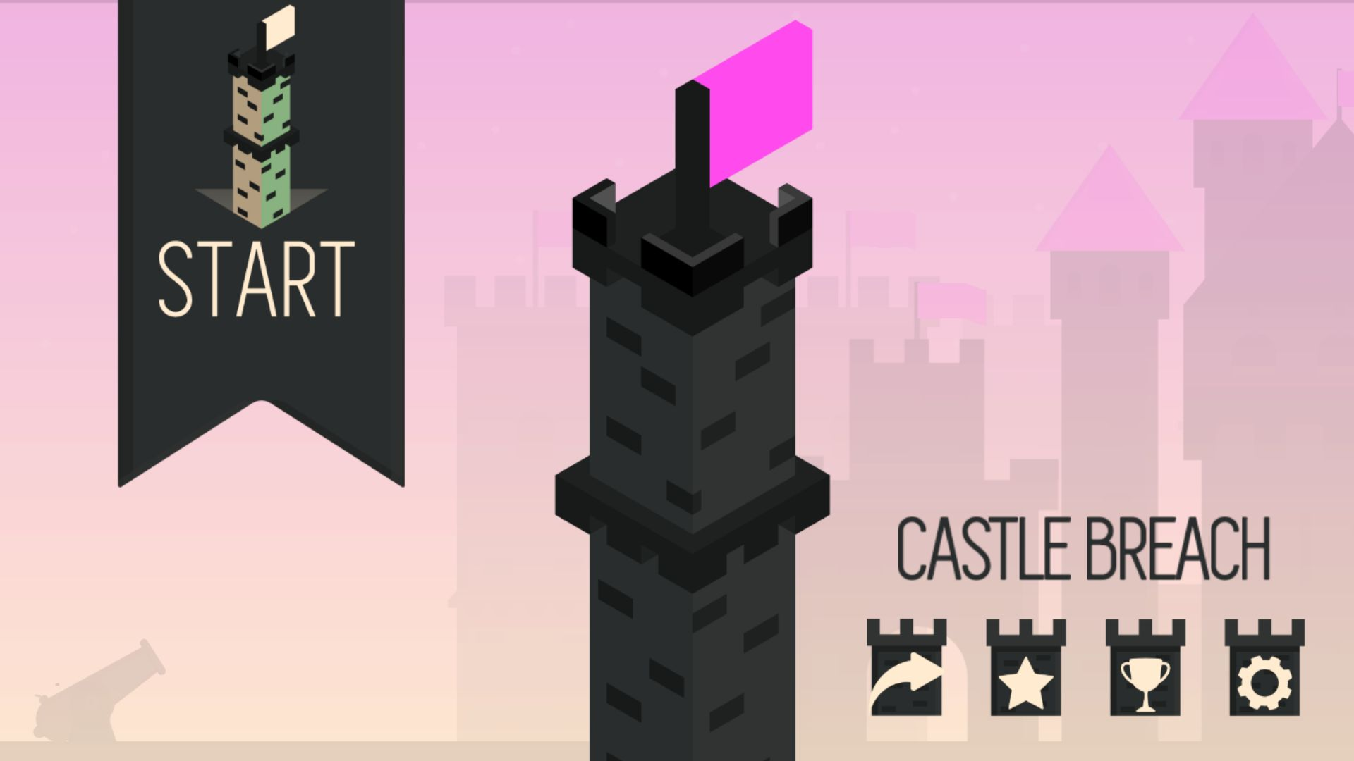 Castle Breach - Buildbox Game Template Screenshot 1