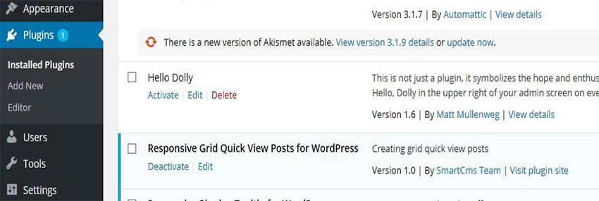 Responsive Grid Quick View Posts for WordPress Screenshot 1