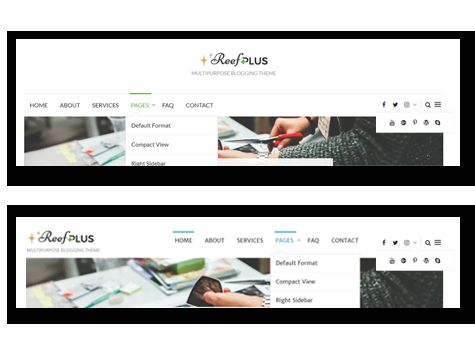 Reef Plus - WordPress Theme Screenshot 3