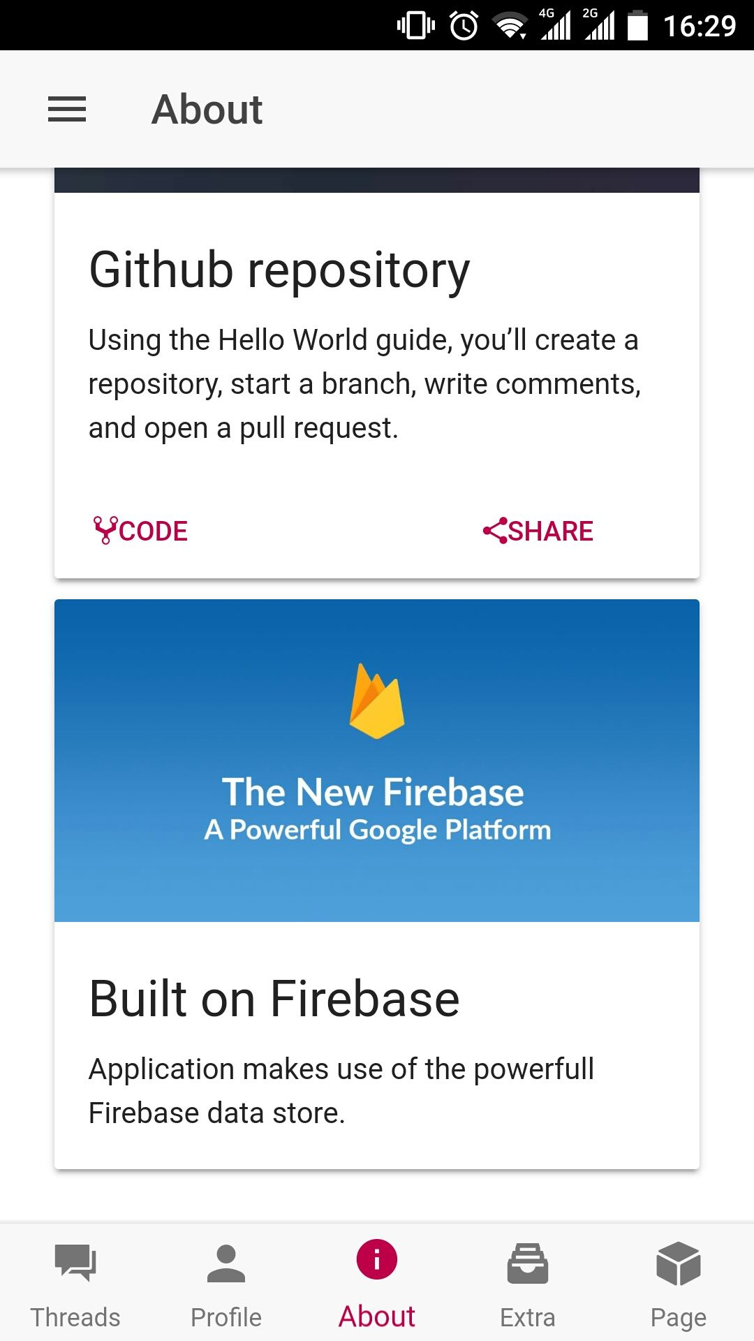 Fire Forum - Ionic Firebase Forum App Source Code Screenshot 4
