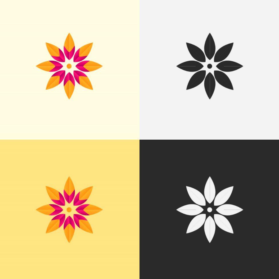 Flower Logo Template Creative Amp Webdesign Logo Templates